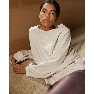Debbie Box Sweater Crystal Gray