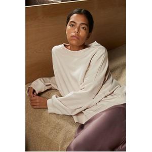 Second Female Debbie Box Sweater Crystal Gray