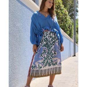 Hailey Happiness Midi Skirt Leopard Multi