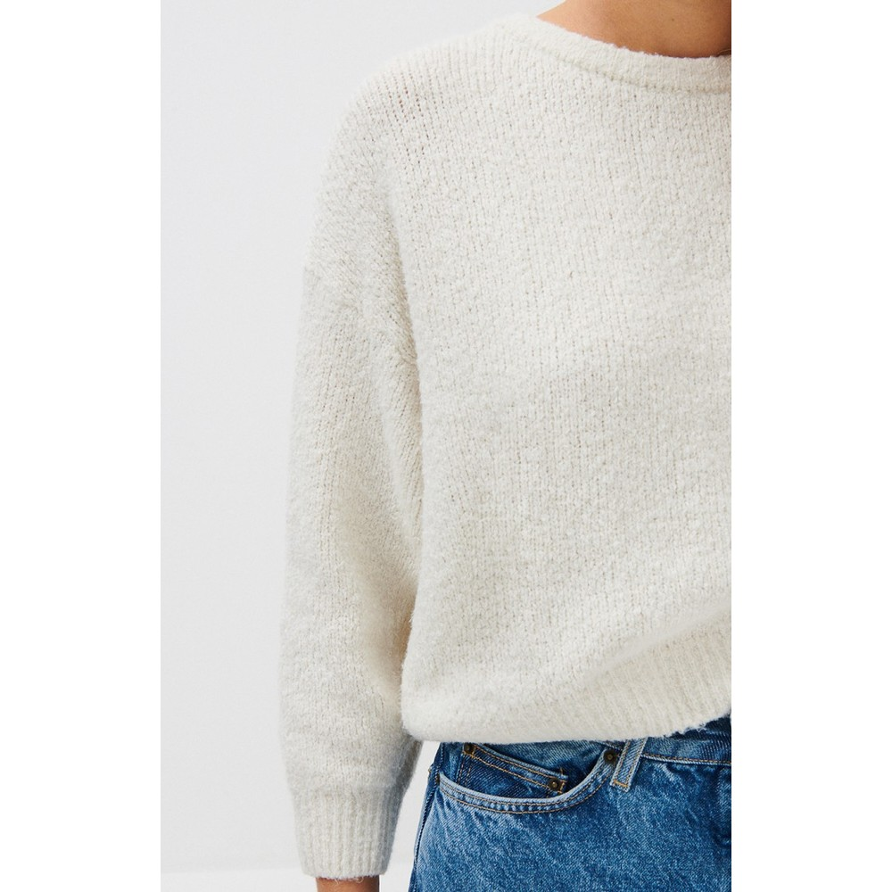 American Vintage Cutebay Boxy Jumper Mother of Pearl