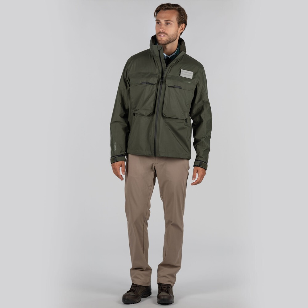 Schoffel Country Mayfly Fly Fishing Jacket River Green