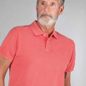 Schoffel Country St Ives Classic Polo Shirt Coral