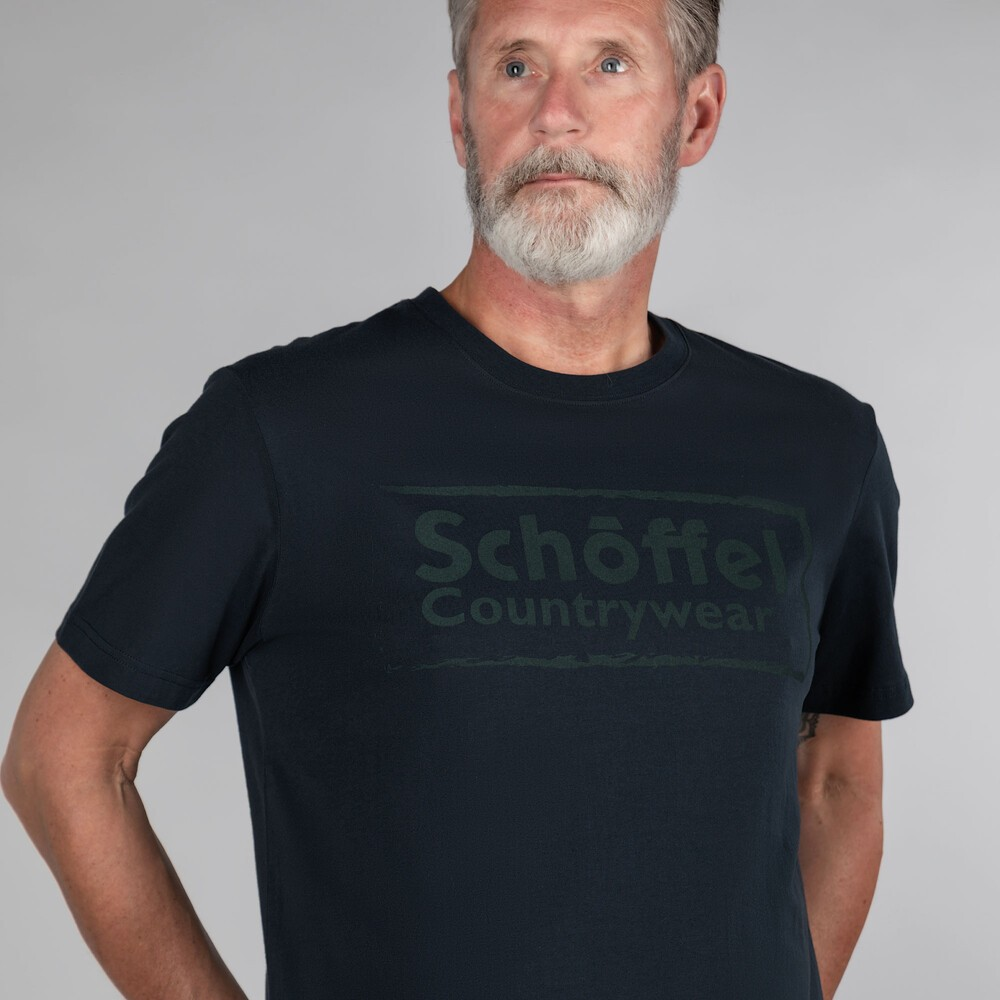 Schoffel Country Schoffel Heritage T Shirt Navy