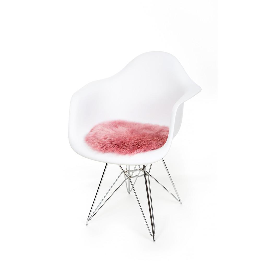 Fibre Sheepskin Cushion - Square Lilac
