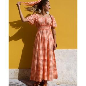 RahRah Spanish Dress Clementine Gingham