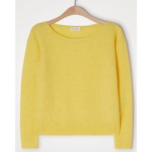 Zabidoo Boat Neck Sweater Daffodil Melange