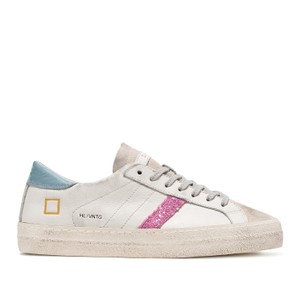 Hill Low Vintage Trainer White/Sky