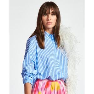 Zaboon R/stone Stripe Shirt Blue/White