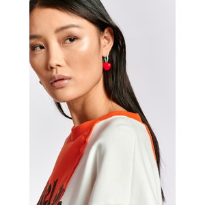 Essentiel Antwerp Zeshark Shark/Heart Earrings Multi