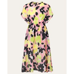 Stine Goya Jordan Floral S/L Dress Watermelon/Multi