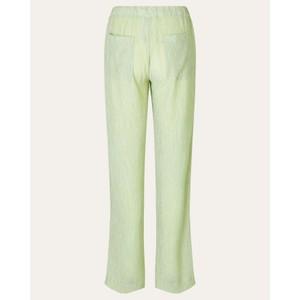 Stine Goya Gulcan Crinkled Trousers Sage