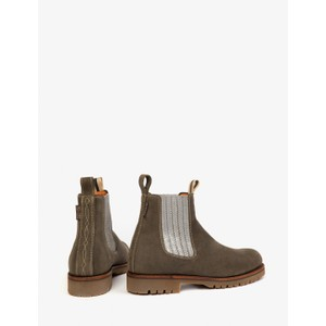 Penelope Chilvers Oscar Suede Boot Sage/Silver