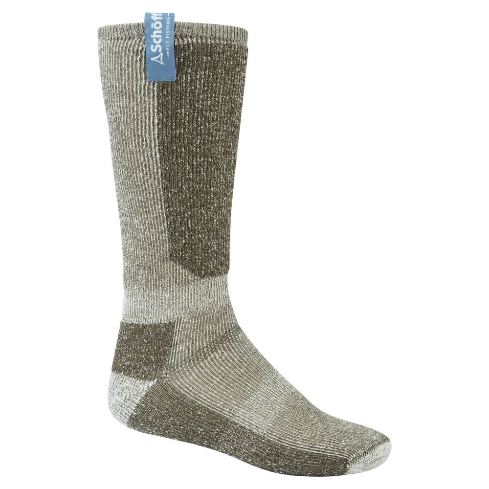 Schoffel Country Technical Fly Fishing Socks Loden