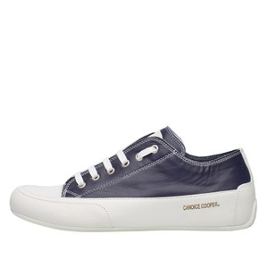 Rock Lace Up Trainer Navy/White