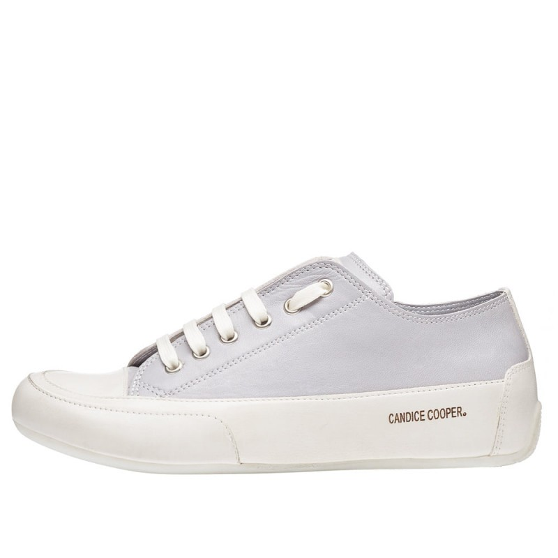 Candice Cooper Rock Lace Up Trainer Grey/Panna