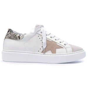Star Detail Trainer Off White/Taupe