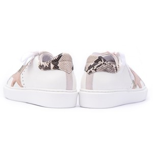 Alpe Star Detail Trainer Off White/Taupe