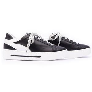 Alpe Flatform Sport Lux Trainer Black/White