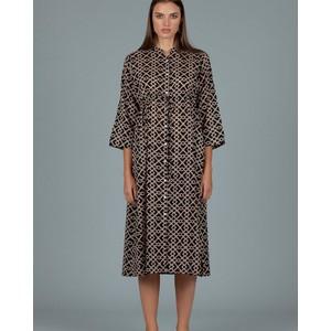 Clara L/S Printed Dress Walterhouse Black