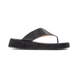 Shoe The Bear Astrid Thong Sandal in Black