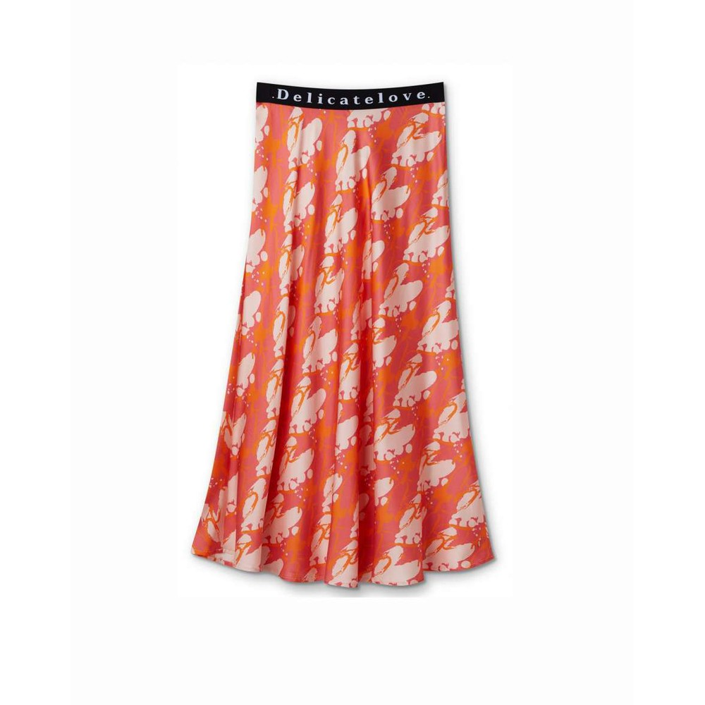 Delicate Love Sara Big Heart Skirt Sundown