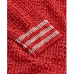 Delicate Love Fille Loose Knit Cardigan Bubblegum