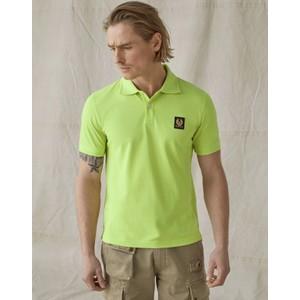 Belstaff Short Sleeved Polo Lime