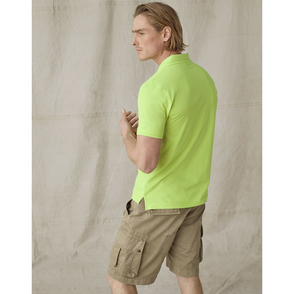 Belstaff Belstaff Short Sleeved Polo Lime
