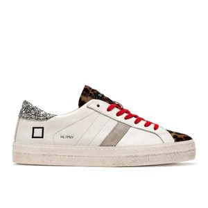 Hill Low Pony Trainer White/Leopard