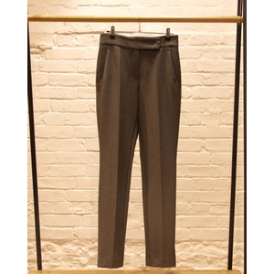 Slim Fit Smart Trousers Titan