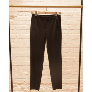 Slim Fit Jersey Trousers Black