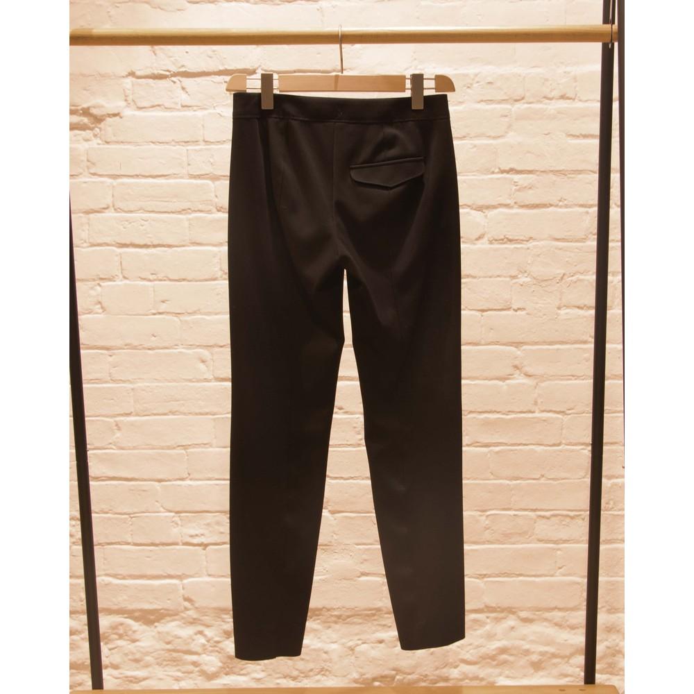 Luisa Cerano Slim Fit Jersey Trousers Black