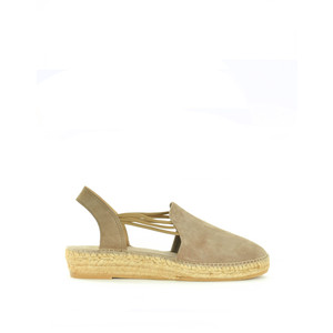 Nuria Suede Shoe with Stretch Sides