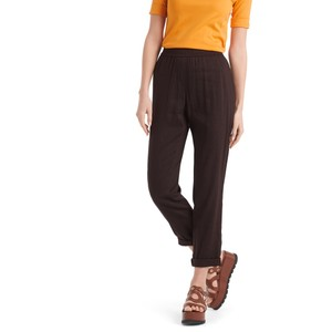 Marc Cain Turn Up Stretch Wst Trousers Arabica