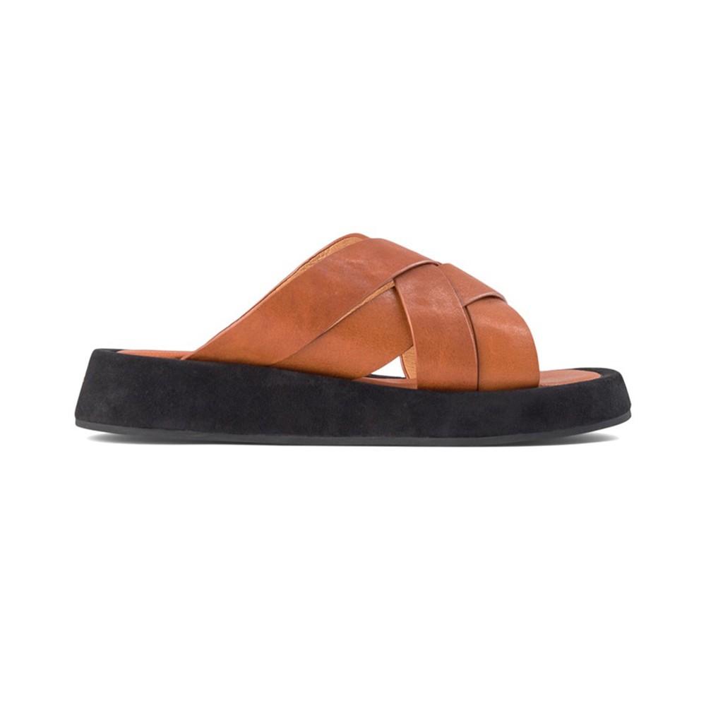 Shoe The Bear Astrid X Over Mule Cognac