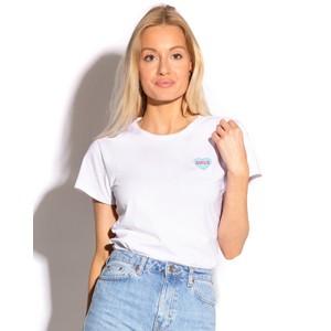 Bezo Smile T Shirt White/Blue