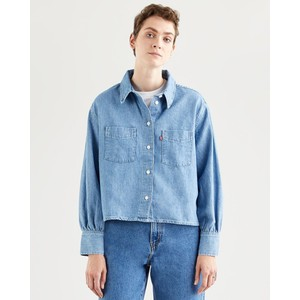 Levis Zoey Pleat Utility Shirt Stay Cool 2
