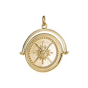 True North Spinner-L Chain 18K Gold Plated