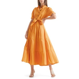 Belted Shirt Dress Masala