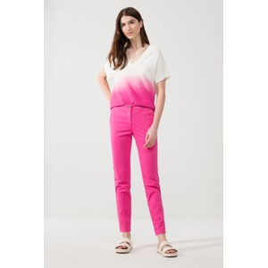 Luisa Cerano Graded Colour Knit Hot Pink/White