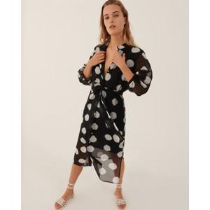 Paglia Spotty Shirt Dress Black/White