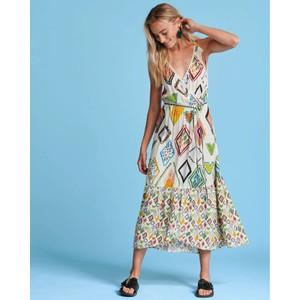 Natures Mosaic Dress Multi