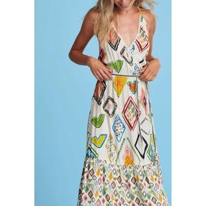 Pom Natures Mosaic Dress Multi