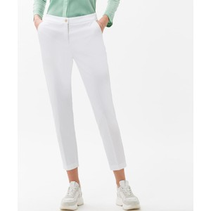 Maron Slim Fit Trouser White