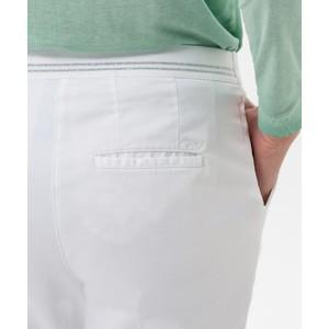 Brax Maron Slim Fit Trouser White