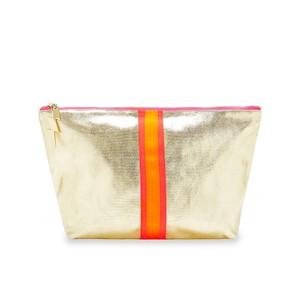 Shiny Gold Wash Bag Gold