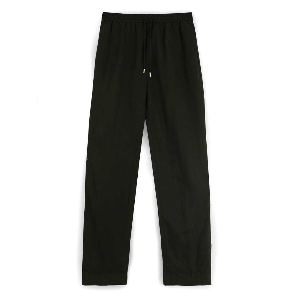 Second Female Nukana Loose Fit Trousers Black