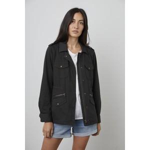 Velvet Ruby Army Jacket Onyx