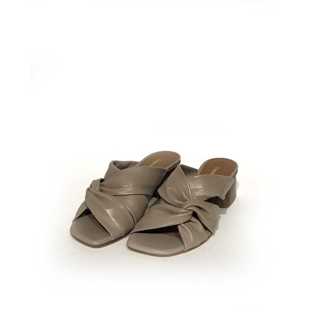 Calpierre Twist Cross Over Shoe Stone
