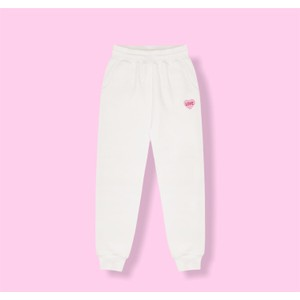 Bezo Love Joggers White/Pink